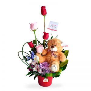 Oso Amor Aroma a flores