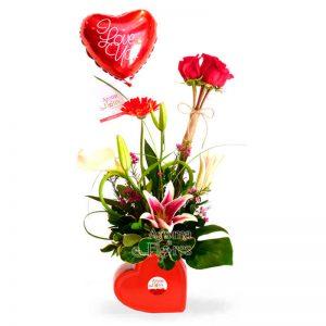 I love You Aroma a flores