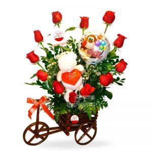 Carreta de Amor Aroma a flores