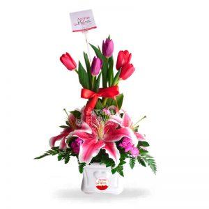 Topiario Tulip Aroma a flores