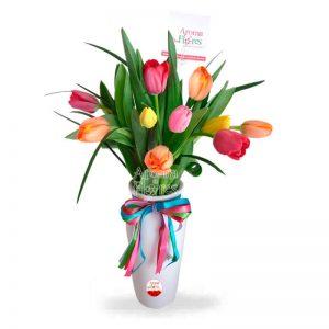 Armonía de Tulipanes Aroma a flores