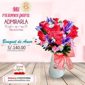 Bouquet de amor Aroma a Flores