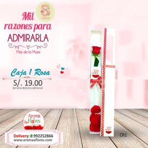 Caja 1 Rosa Aroma a flores