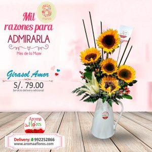 Girasoles Amor Aroma a flores
