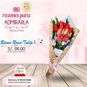 Ramo Rosa Tulip I Aroma a flores