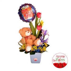 Aroma a Flores Peluche y Tulipanes