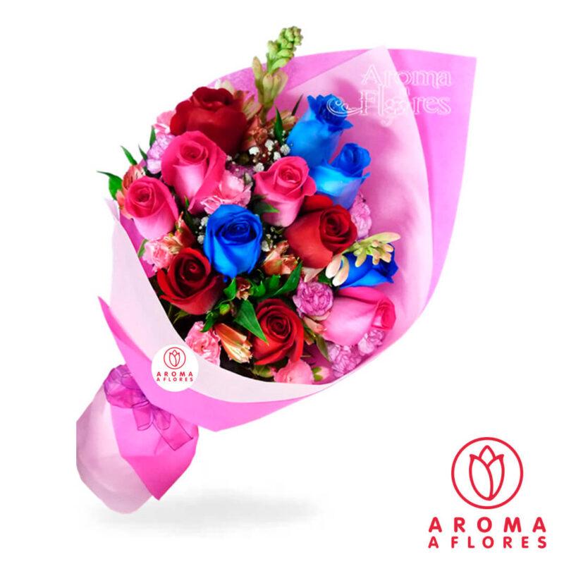 ramo-12-rosas-aromaaflores