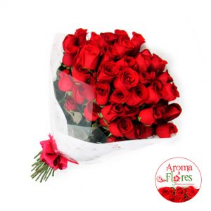 Ramo 36 rosas aroma a flores