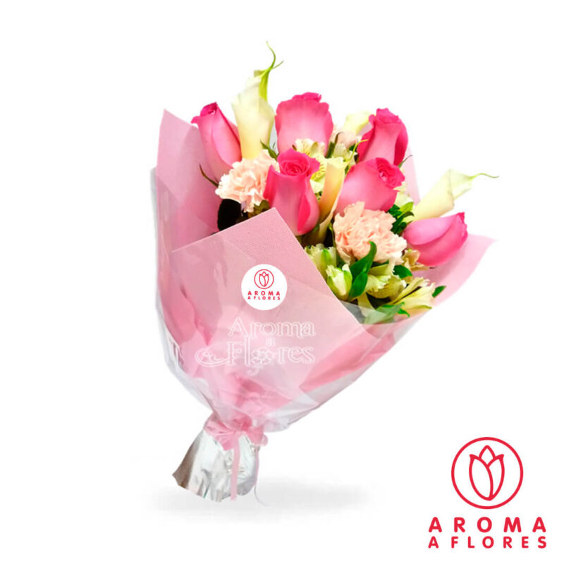 ramo-6-rosa-fucsia-aromaaflores