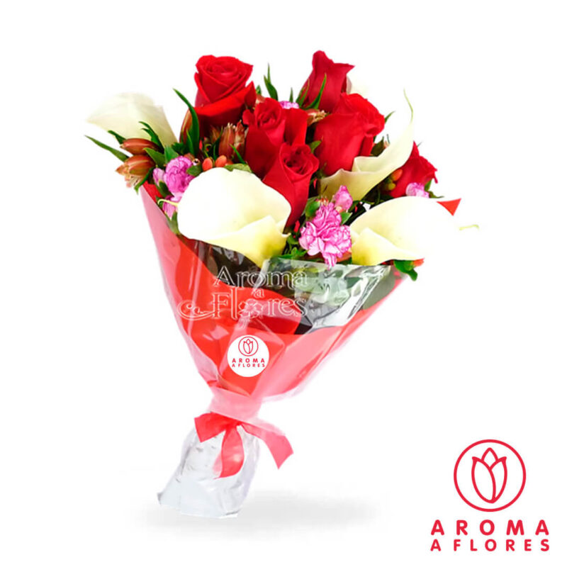 ramo-6-rosas-y-calas-aromaaflores