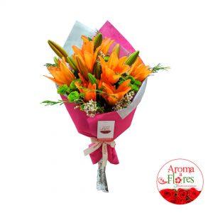 Ramo de liliums aroma a flores