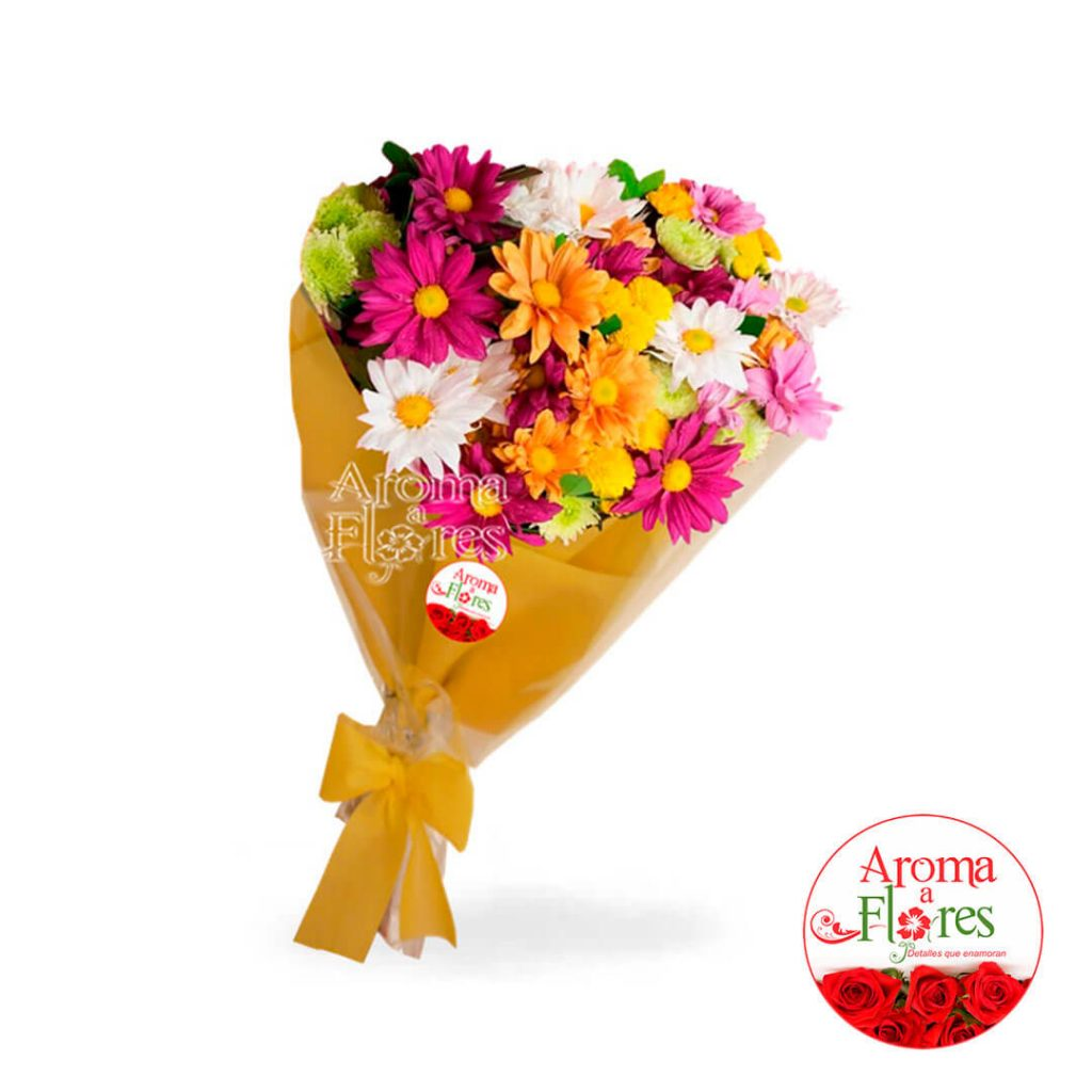 Ramo margaritas aroma a flores