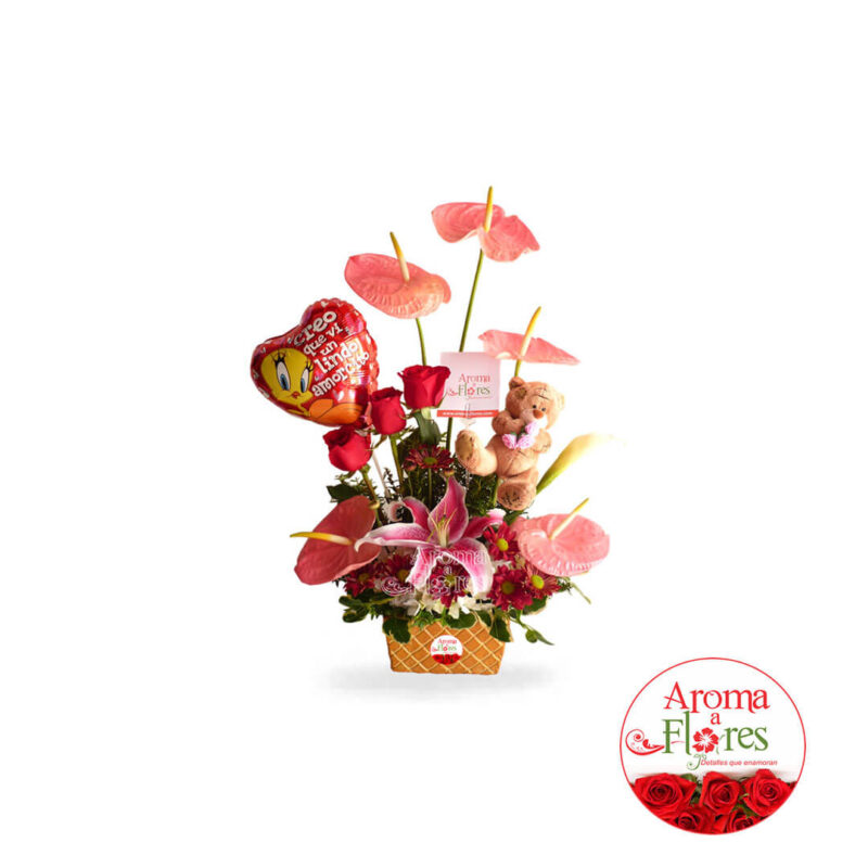 Anturio Aroma a flores