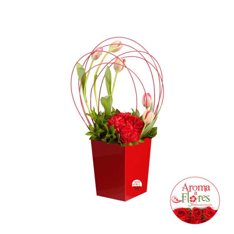 Apasionado aroma a flores