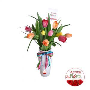 Armonia de Tulipanes Aroma a flores