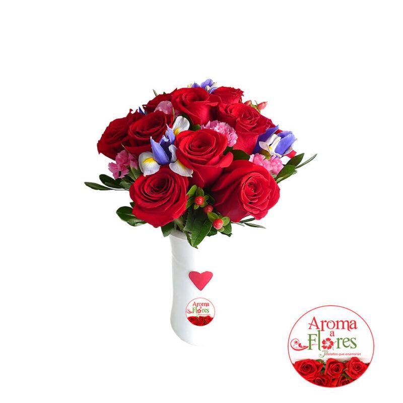 Bouquet de rosas Aroma a flores
