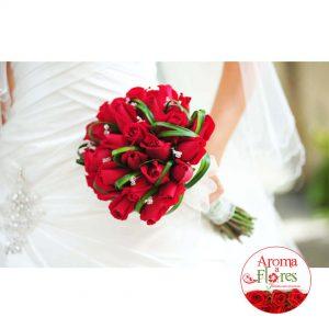 Bouquet Rosas 17 Aroma a flores