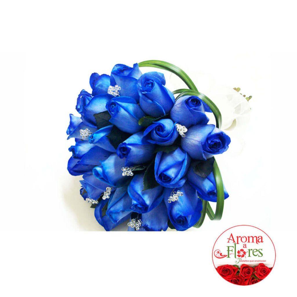 Bouquet Rosas 18 Aroma a flores