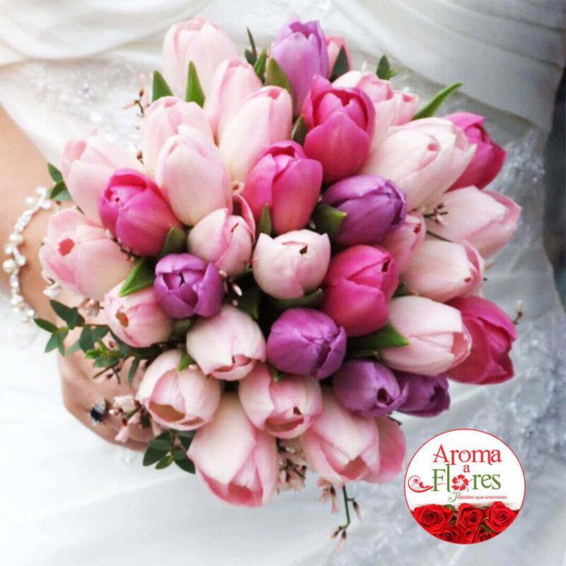 Bouquet Rosas 21 Aroma a flores