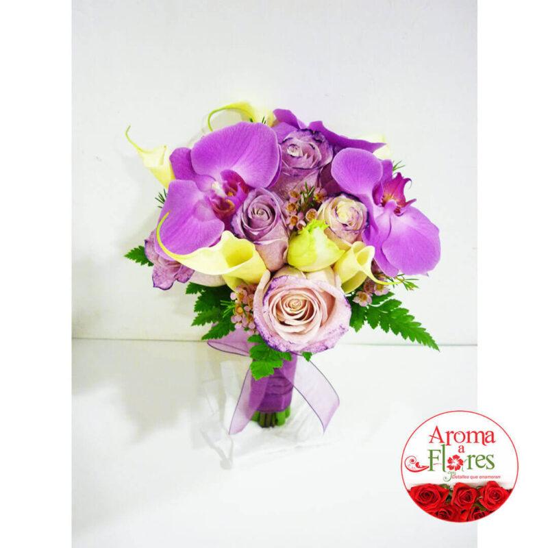 Bouquet Rosas 9 Aroma a flores