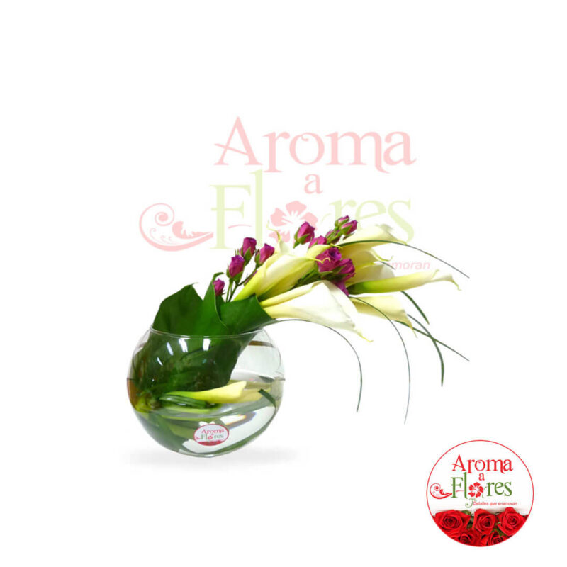 Cala Aroma a flores