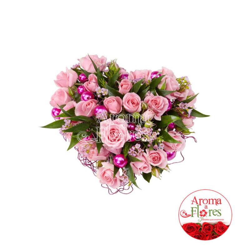 Corazon de perlas Aroma a flores