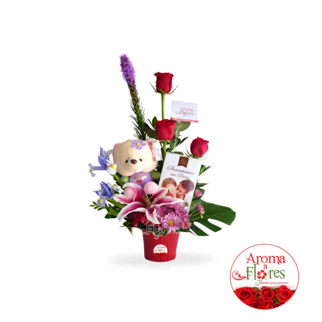 DUlce Teddy Aroma a flores