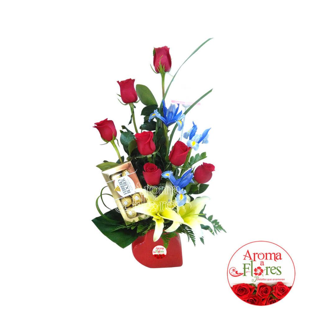Dulzura de rosas arreglos aroma a flores