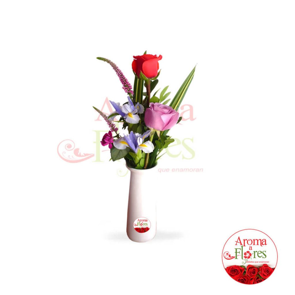 florero aroma a flores