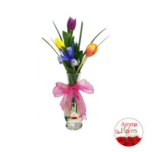 florero tres tulipan b aroma a flores