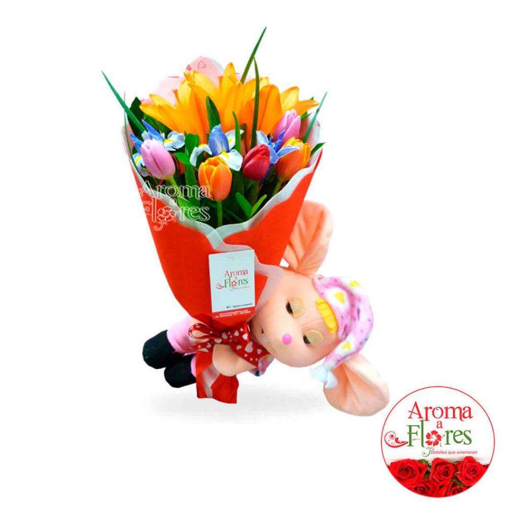 Tulipanes Aroma a flores