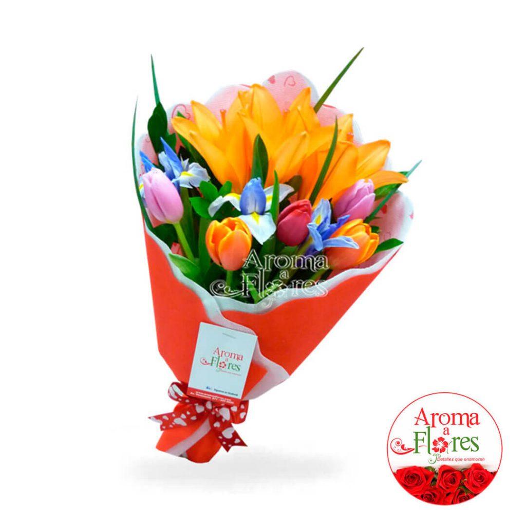 Ramo Tulipan Aroma a flores