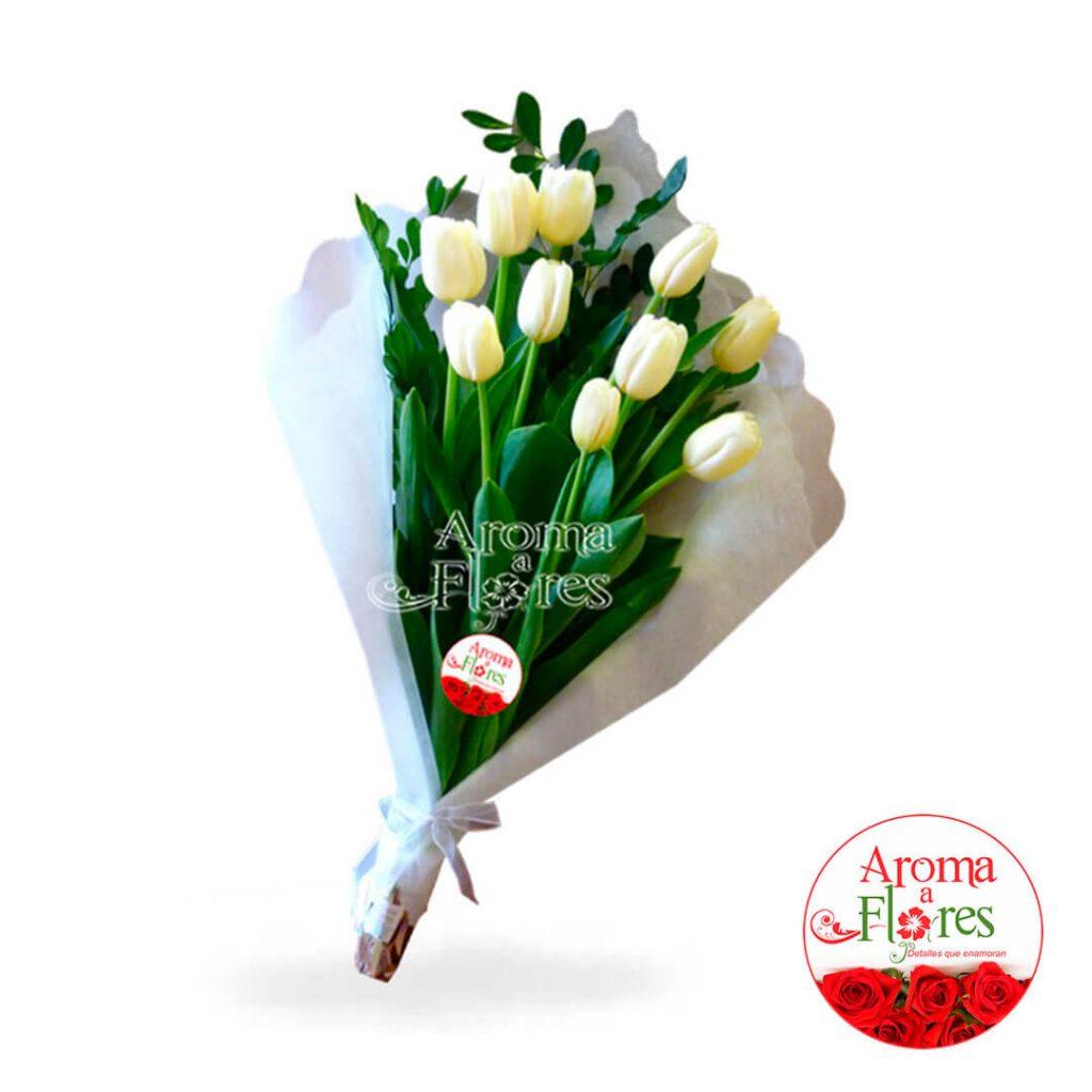 Ramo 10 Tulipan Aroma a flores