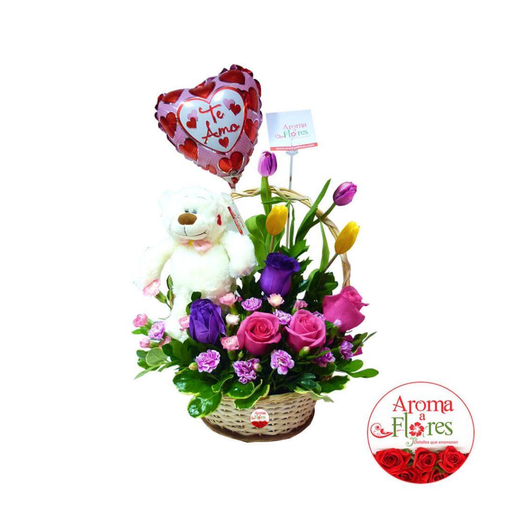 Sorpresa de amor aroma a flores