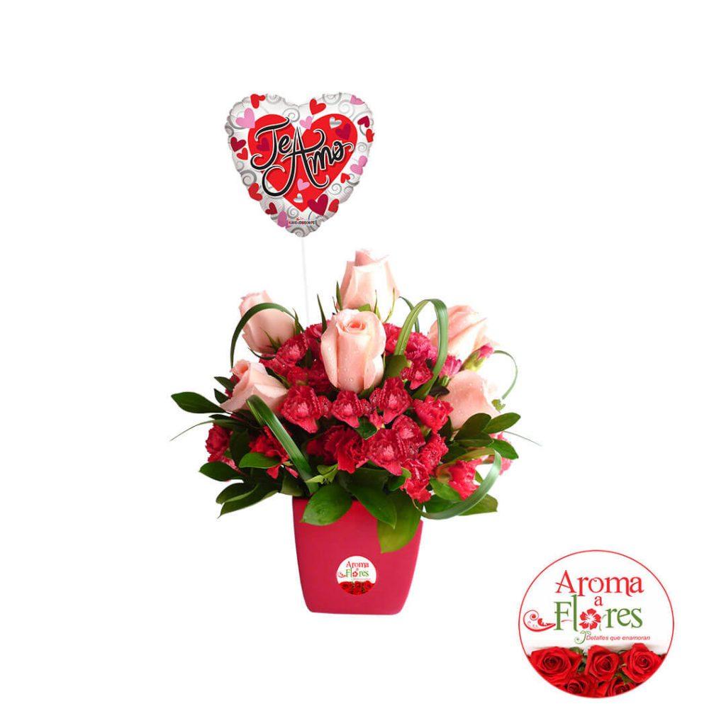 Te quiero mucho Aroma a flores