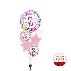 bouquet-de-globos-niña