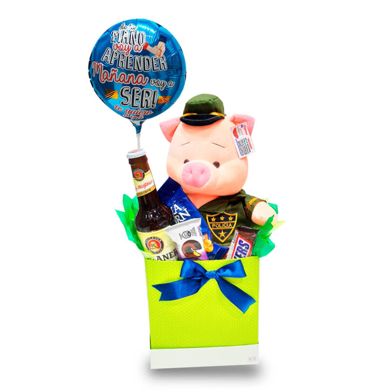 PACK CHANCHO POLICIA-aromaaflores