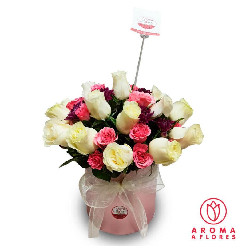 Box-18-Rosas-y-mini-Rosas-aromaaflores