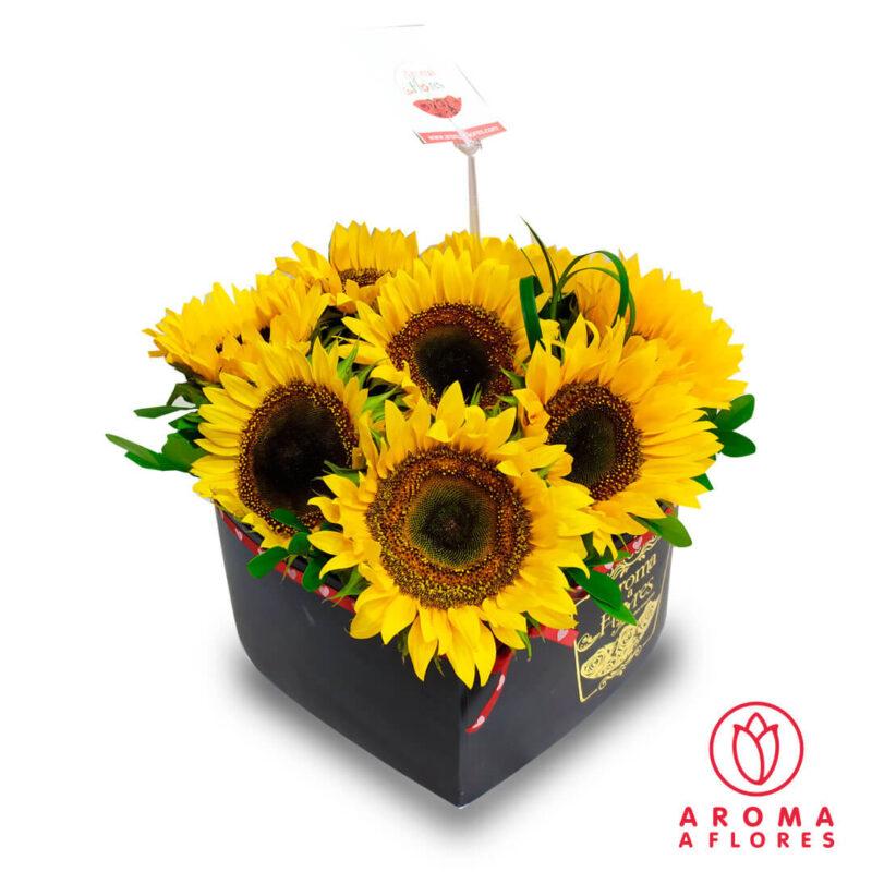 Box-Corazón-de-Girasoles-aromaaflores