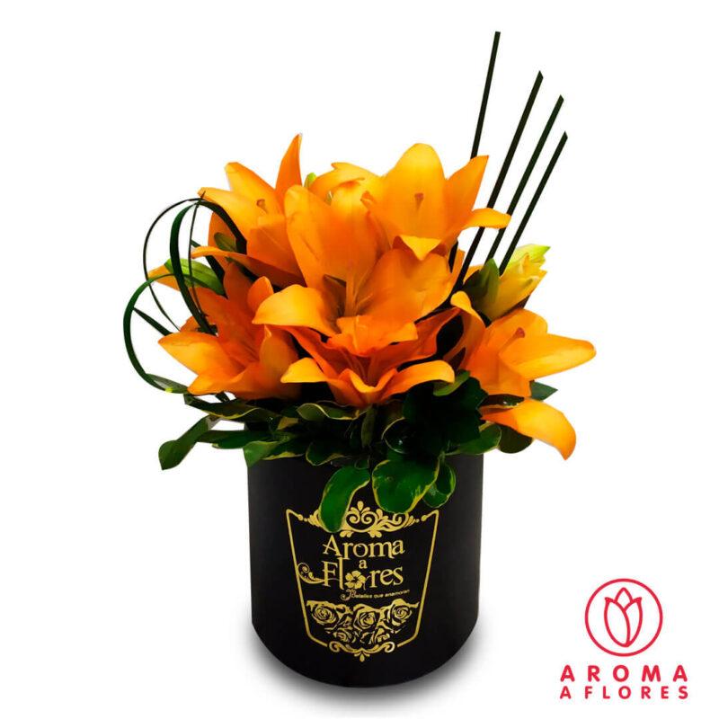 Box-Lilium-Anaranjado-aromaaflores