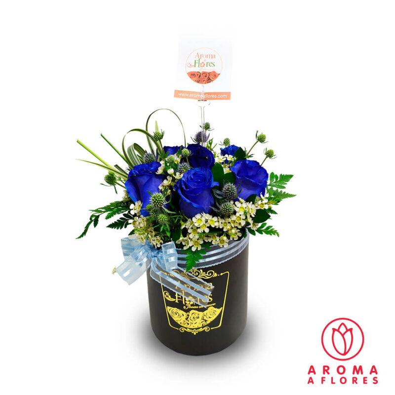 Box-Petit-7-Rosas-azules-aromaaflores