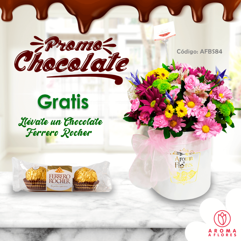 box margarita- promo choclate-aromaaflores