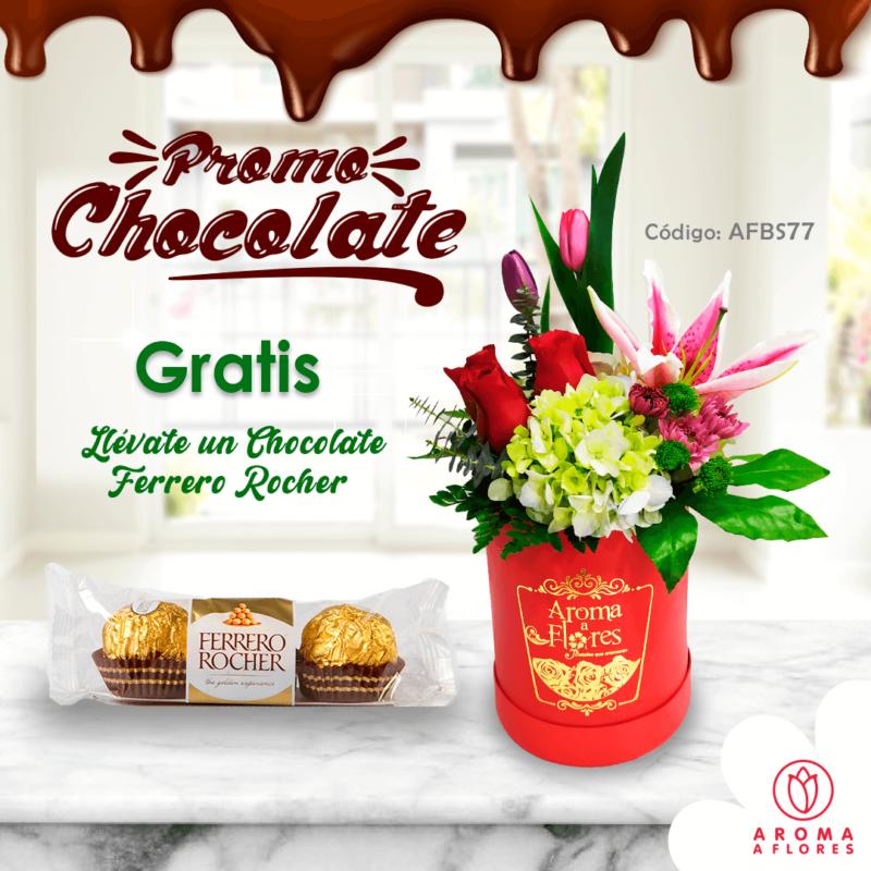 box petit amor-promo choclate-aromaaflores