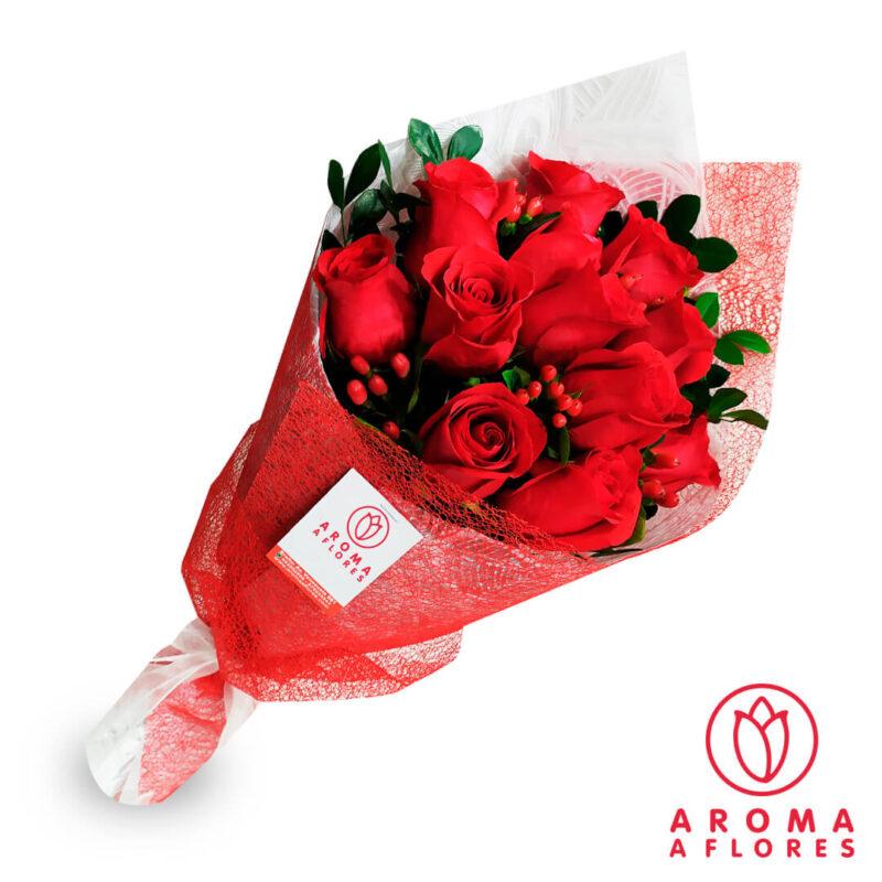 Ramo-12-Rosas-Impericum-aromaaflores