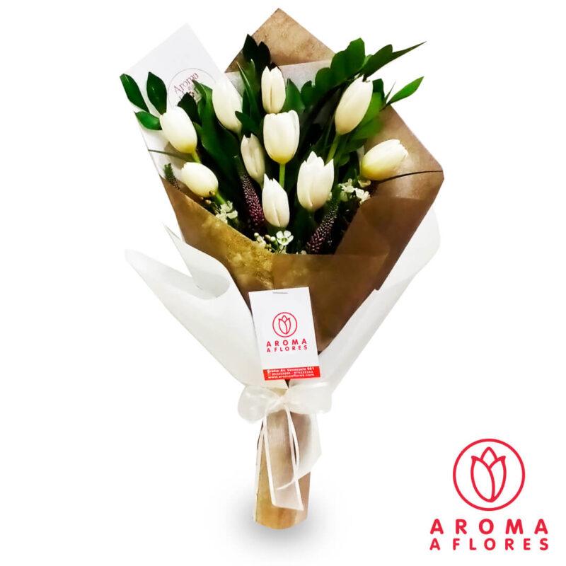 ramo-10-tulipanes-blancos-aromaagloers-