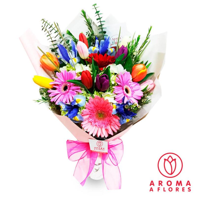 ramo-10-tulipanes-y-gerberas-aromaaflores-