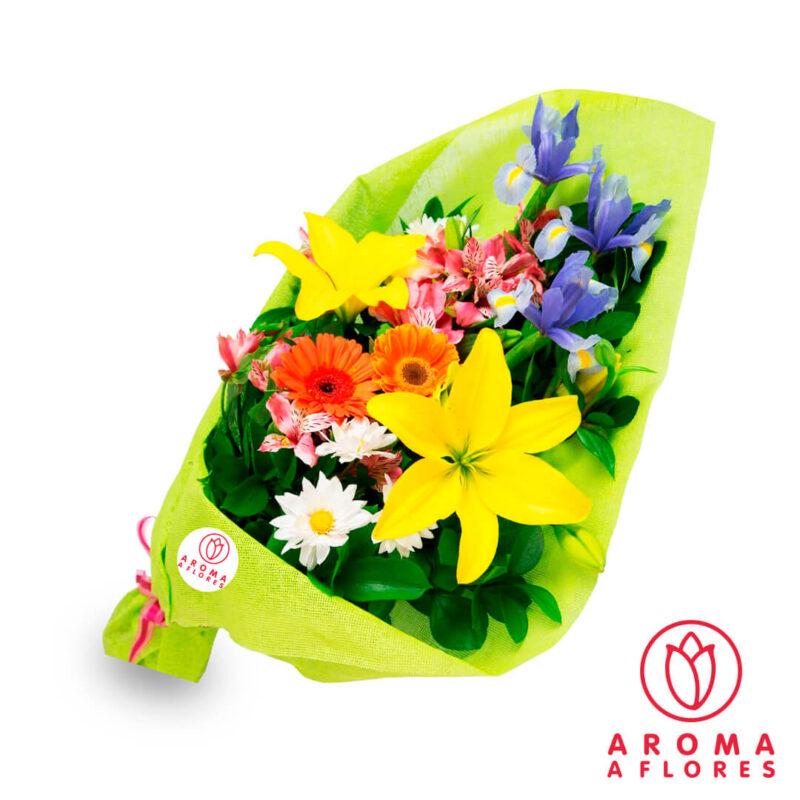 ramo-lilium-gerbera-aromaaflores