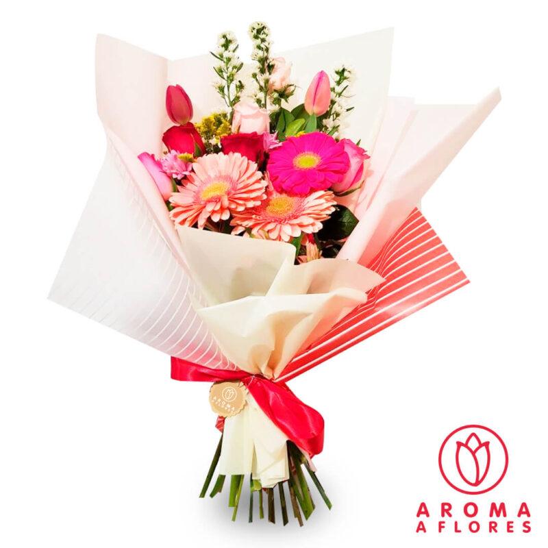 ramo-rosas-y-gerberas-y-tulipanes-aromaa-flores