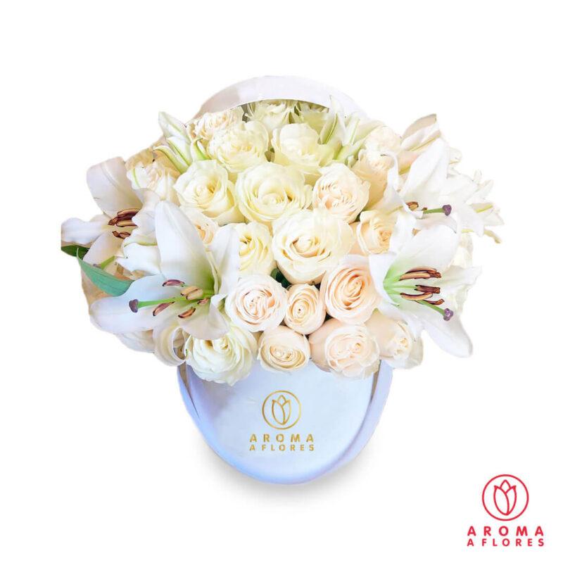 Box-24-rosas-y-lilium-aromaaflores