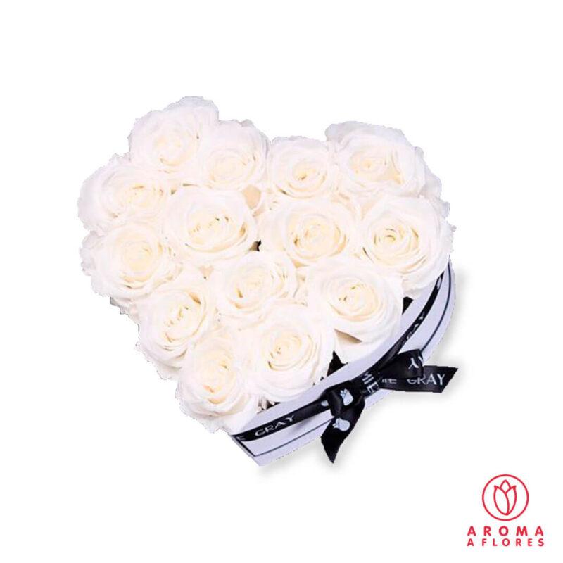 Box-Corazon-14-rosas-aromaaflores